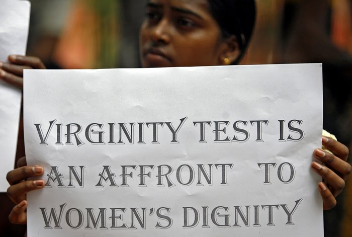 Virginity test for girls