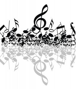 Musicnotejumble