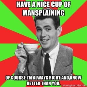 manslpaining