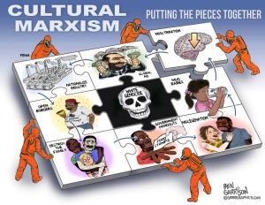 Wow, Cultural Marxism apparently is nightmare fuel to the wingnut, racist right.