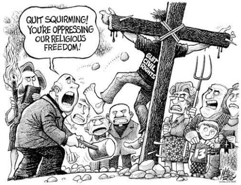 Quit Squirming Cartoon