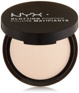 Powder - to create a matte finish and absorb oil that would make me shiny