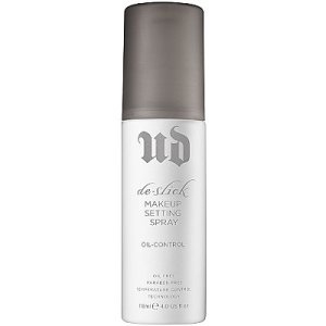 Setting spray - to make sure that the makeup doesn't melt off if I sweat or secrete oil or am exposed to humidity
