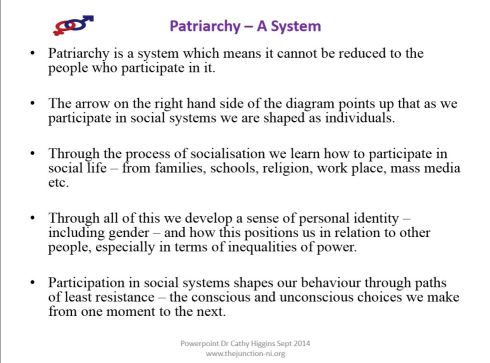 radical feminism what is patriarchy a slide primer  p3