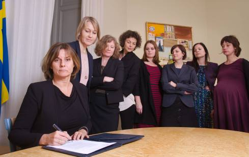 The referral of the Swedish climate law is signed. All future governments will be obliged to reduce greenhouse gas emissions. For a better planet and a better future.